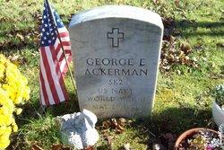 George E Ackerman