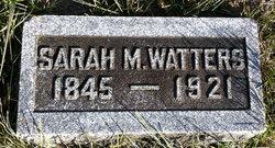Sarah M <i>Atkinson</i> Watters