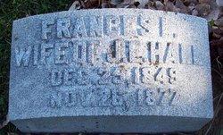 Frances I. <i>Jenks</i> Hall