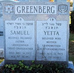 Yetta Greenberg
