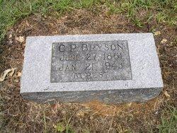 Gideon Pillow G.P. Bryson