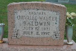 Orville Walter Baldwin