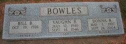 Vaughn B Bowles