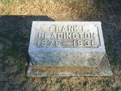 Frank E Headington