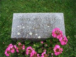Mary Ann Mae <i>McAuliffe</i> Browne