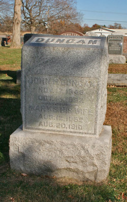 Mary S. <i>Rutledge</i> Duncan