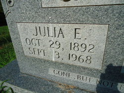 Julia E. <i>Keith</i> Casada