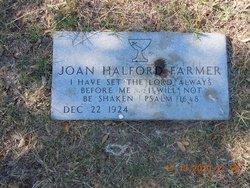 Joan <i>Halford</i> Farmer