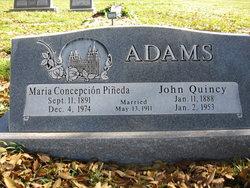 Maria Conception Concha <i>Pineda</i> Adams