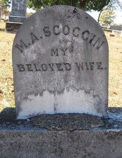 Mary Ann <i>Stafford</i> Scoggin