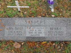 Adda Dayle <i>Ward</i> Sanders