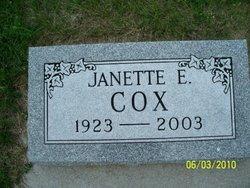 Janette Elizabeth Cox