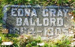 Edna M <i>Gray</i> Ballord