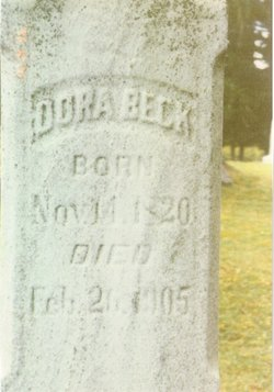 Dorothea Dora <i>Tennessen</i> Beck