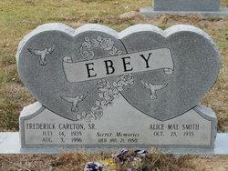 Frederick Carlton Ebey, Sr