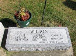 Evelyn <i>Stoakes</i> Wilson