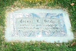 Coralee E <i>Comerford</i> Ditzler