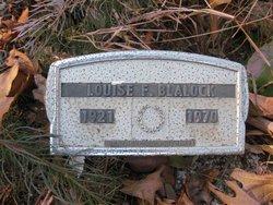 Louise F. <i>Rigsby</i> Blalock