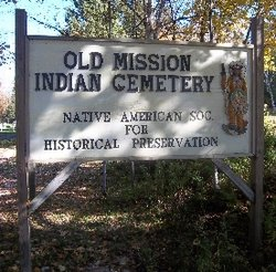 Old Mission Indian Cemetery