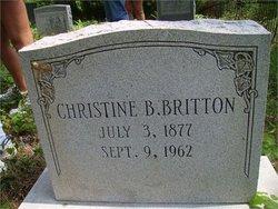 Christiana Hester Aunt Tinie <i>Berger</i> Britton