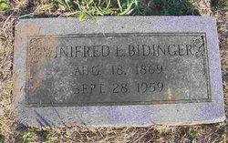 Winifred E. <i>Murphy</i> Bidinger