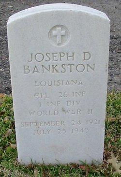 Joseph D Bankston