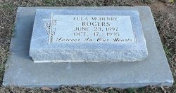 Eula <i>McHenry</i> Rogers
