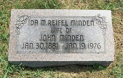 Ida Maria <i>Reifel</i> Minden