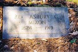 Rev Asbury Coke Mixon