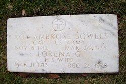 Lorena G Bowles