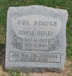 Donna Dimple <i>Hefley</i> Buffington