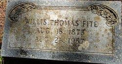 Willis Thomas Fite