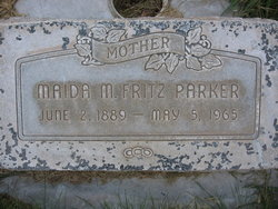 Maida M <i>Fritz</i> Parker