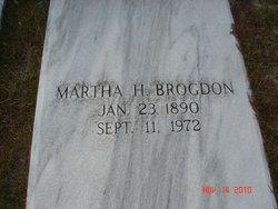 Martha <i>Hendley</i> Brogdon