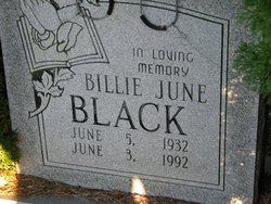 Billie June <i>Pierson</i> Black