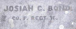 Corp Josiah G Bond