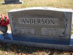 Clauda Ann <i>Martin</i> Anderson