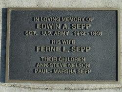 Sgt Edwin Arthur Sepp