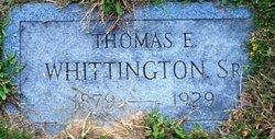 Thomas E. Whittington, Sr