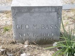 George M. Bass