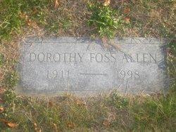 Dorothy <i>Foss</i> Allen
