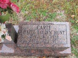 Hazel Evelyn <i>Hunt</i> Carte