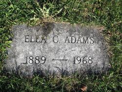 Ella C. <i>Lay</i> Adams