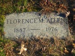 Florence M. <i>Howe</i> Allen