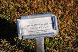 Sammy Britton Carroll, Sr