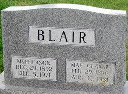 Mae <i>Clarke</i> Blair