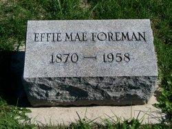 Effie Mae <i>Brown</i> Foreman
