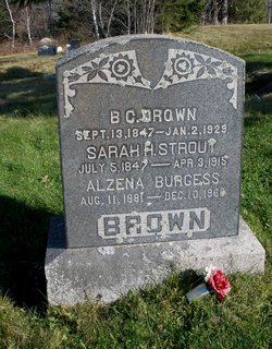 Alzena <i>Brown</i> Burgess