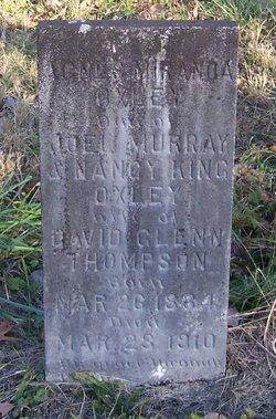 Agnes Miranda <i>Oxley</i> Thompson