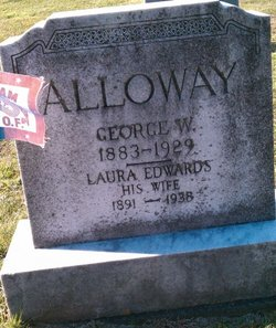 Laura C <i>Edwards</i> Alloway